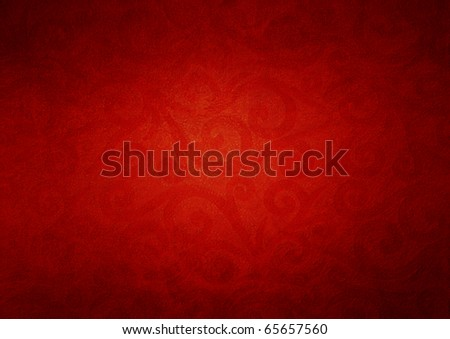 red christmas grunge texture background - stock photo