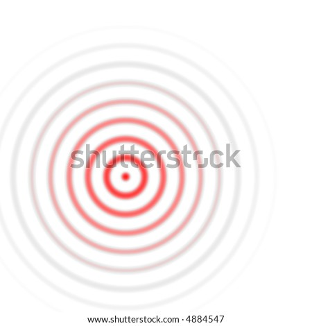 red circles - stock photo
