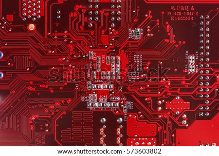 electronic red background wiring - photo #12
