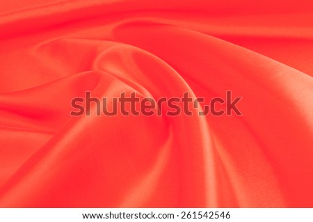 red cloth. tissue, textile, cloth, fabric, material, texture. cloth, typically produced by weaving or knitting textile fibers. - stock photo