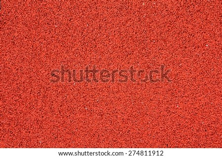 Red concrete floor