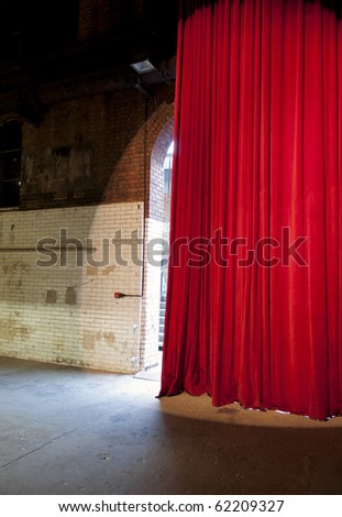 Red Curtain London