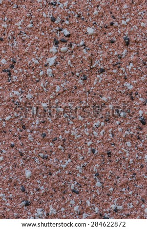 Red dot Ceramic floor sandstone texture background - stock photo