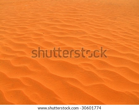 Red dunes in Mui Ne, Vietnam