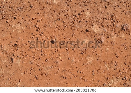 Red Earth background - stock photo