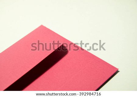 red envelope  - stock photo