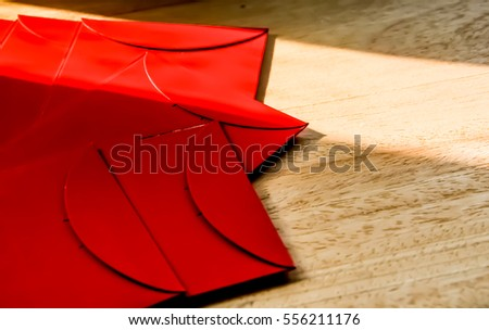 Red envelope for Chinese new year festival