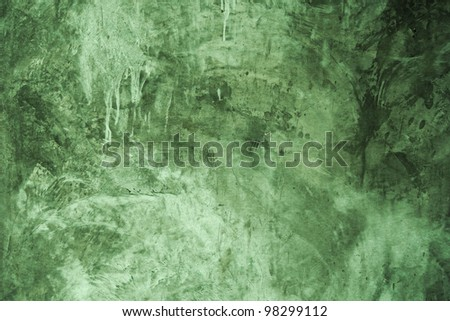 Red exposed concrete wall texture wallpaper - stock photo