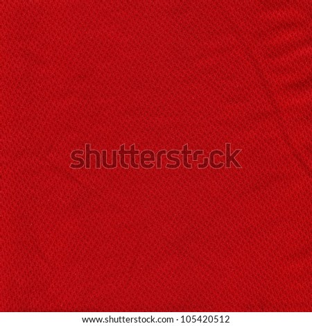 Red Fabric Paper Texture Background Scrapbooking - stock photo