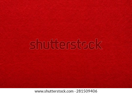red felt rough texture or background - stock photo