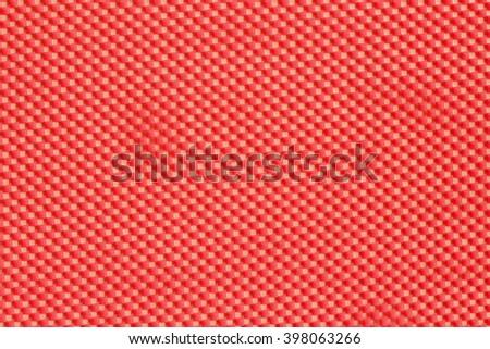 Red foam sponge texture background - stock photo