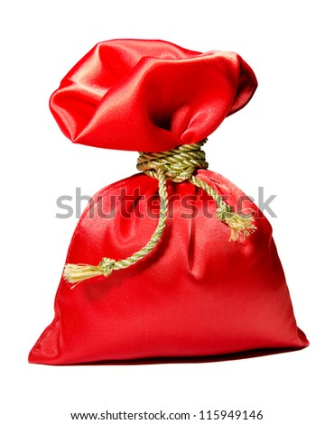 Red gift - stock photo