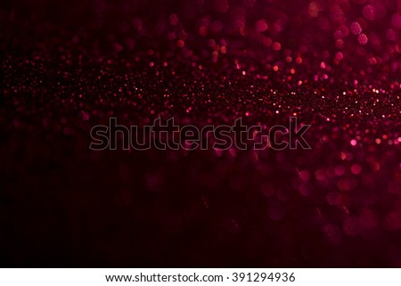 red glitter texture background - stock photo