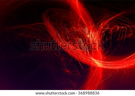 red glow energy wave. lighting effect abstract background. This image is suitable for any purpose, such as science, fantastic, sci-fi, horror, supernatural and etc.