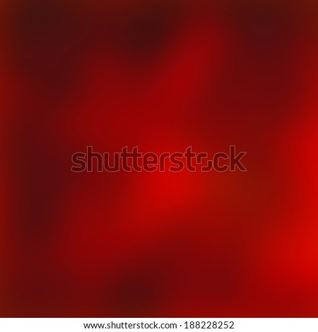 Red glowing simple Christmas background.  - stock photo