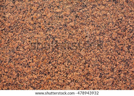 Red granite texture or background