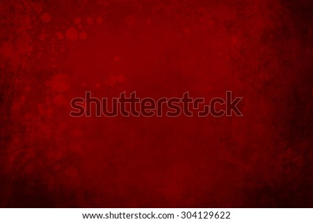 red grunge background with blood splatters  - stock photo