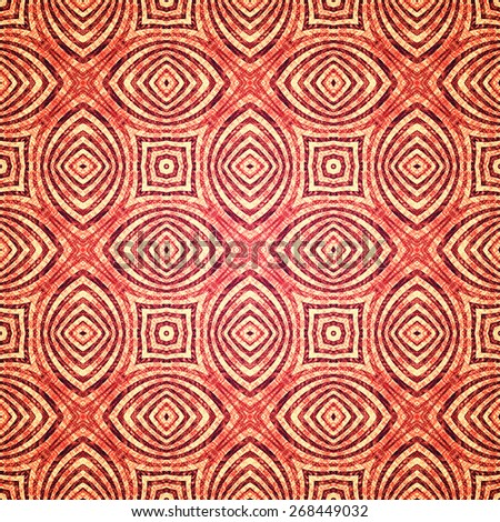 red grunge old textile pattern background  - stock photo