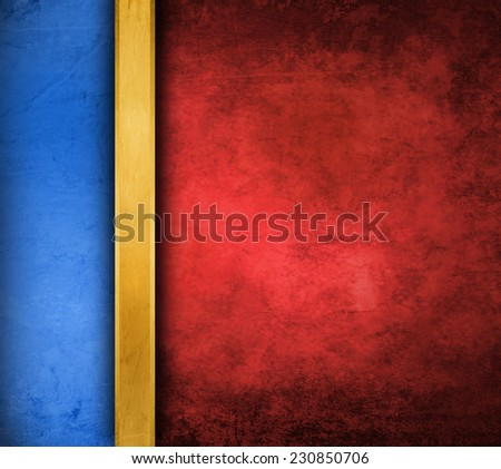 red grunge paper background - stock photo