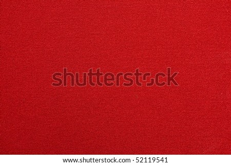 Red jersey - stock photo