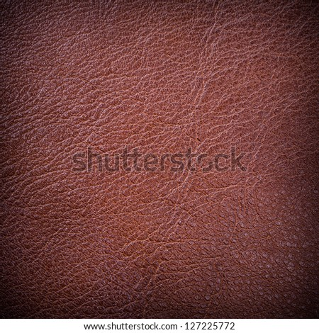Red leather background - stock photo