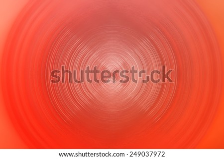 red lines forming circles - shiny background - stock photo