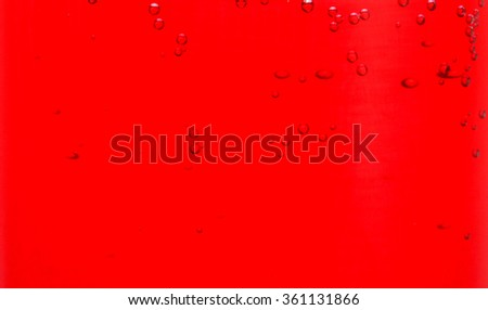 Red liquid backgroung