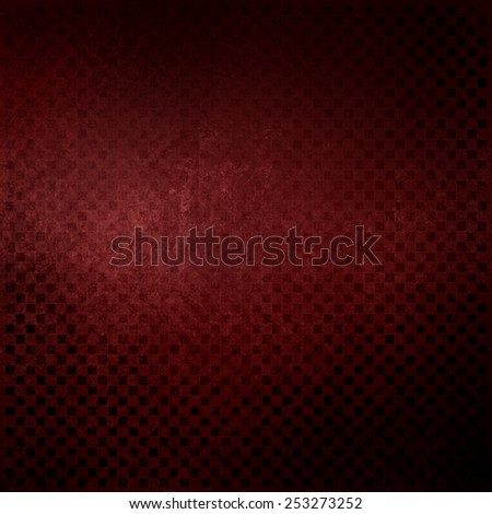 red marsala background with faint vintage distressed blocks or square pattern - stock photo