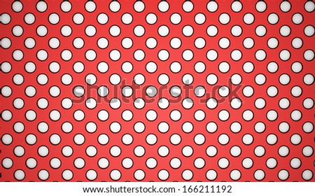 Red mesh background rendered - stock photo