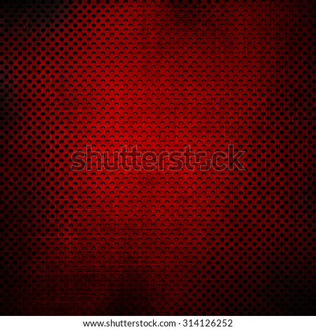 Red metal mesh background - stock photo