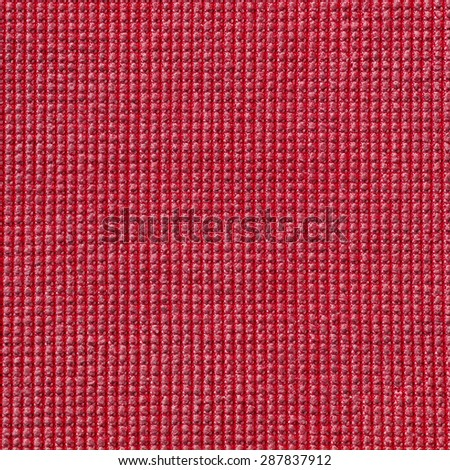 red microfiber cloth texture for background - stock photo