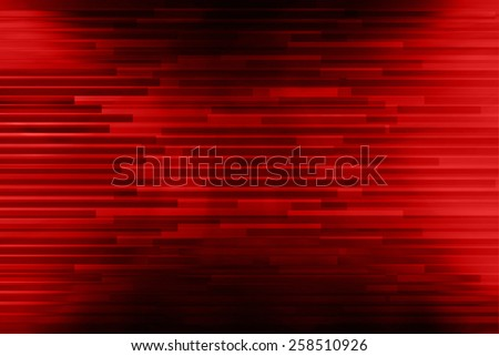 Red motion blurred background. - stock photo