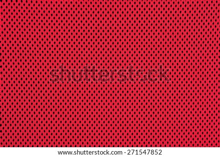 Red nonwoven fabric texture background  - stock photo