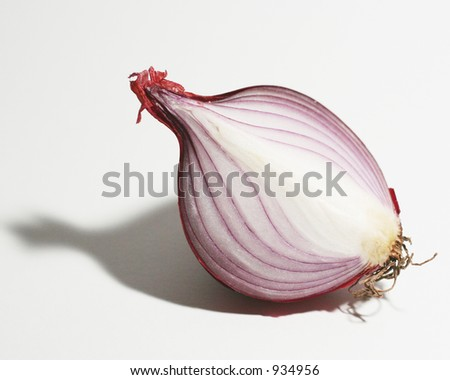 Red Onion - stock photo