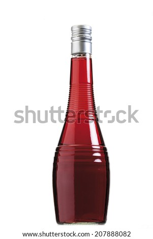 Red orange liqueur