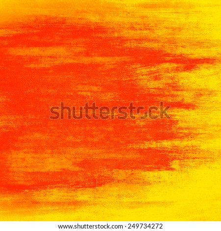 red paint wall texture background - stock photo