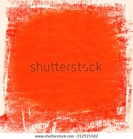 red painted wall paper texture background, may use as abstract christmas background - stock photo