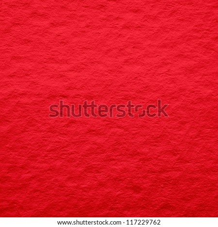Red paper as a texture or background. To use the website as a background. - stock photo