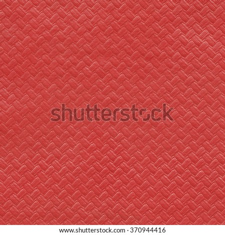 Red paper background with pattern - stock photo