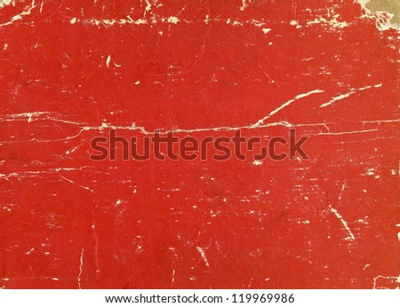 red paper texture, can be used as background - stock photo