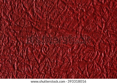 Red paper texture, can be used as background. - stock photo