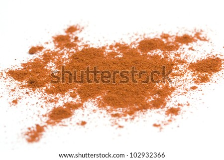red paprika powder - stock photo