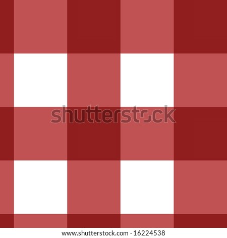 red picnic cloth texture with cubic features