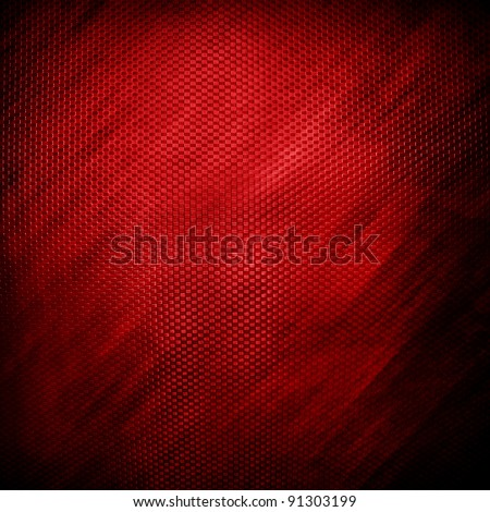 red plate - stock photo