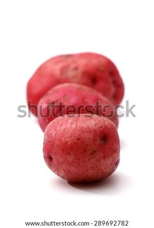 Red Potatoes - stock photo
