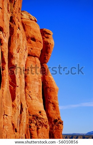 Red Rock - stock photo