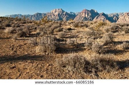 Red Rock Canyon, Las Vegas, Nevada - stock photo