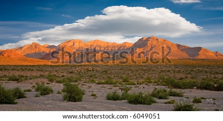 Red Rock Canyon, Nevada - stock photo