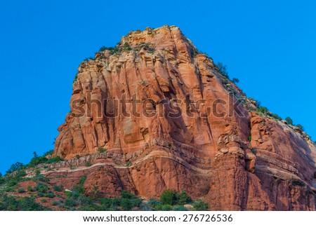 Red Rock Formation of Sedona AZ - stock photo