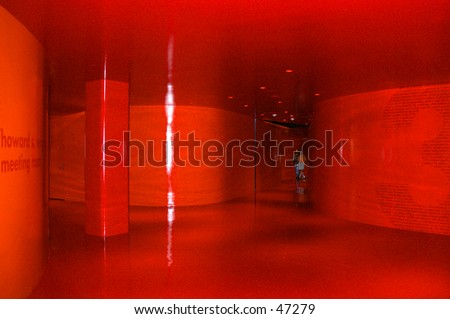 Red room - stock photo